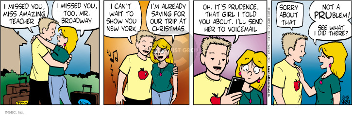 Comic Strip Greg Evans  Luann 2015-08-15 plan