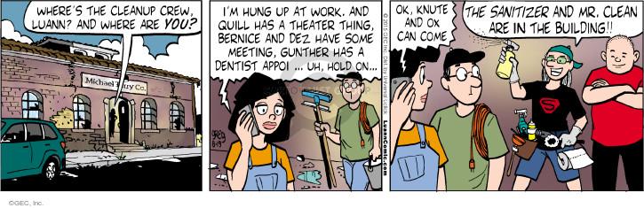 Comic Strip Greg Evans  Luann 2015-08-19 clean