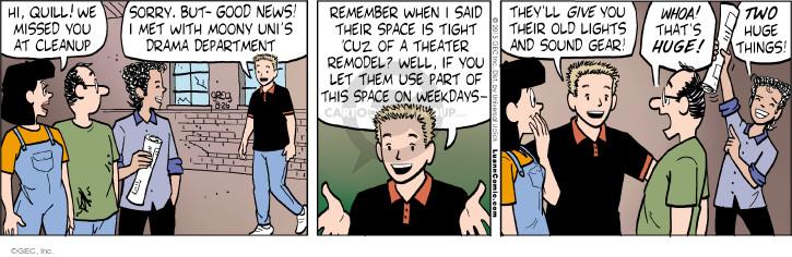 Comic Strip Greg Evans  Luann 2015-08-26 good news