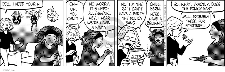 Comic Strip Greg Evans  Luann 2015-09-04 policy