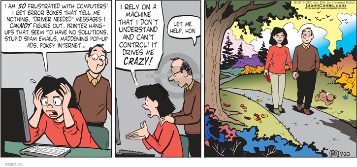 Comic Strip Greg Evans  Luann 2015-09-20 crazy