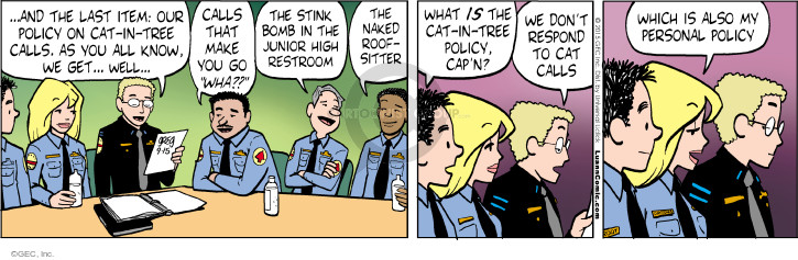 Comic Strip Greg Evans  Luann 2015-09-15 policy