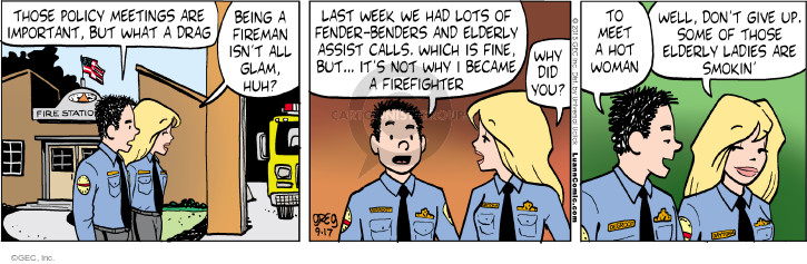 Comic Strip Greg Evans  Luann 2015-09-17 policy