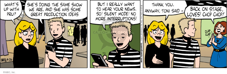 Comic Strip Greg Evans  Luann 2015-09-25 cell phone