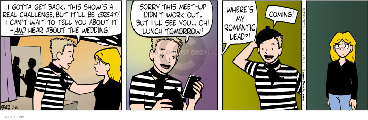 Comic Strip Greg Evans  Luann 2015-09-26 romantic