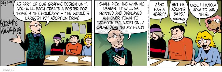 Comic Strip Greg Evans  Luann 2015-09-28 student teacher