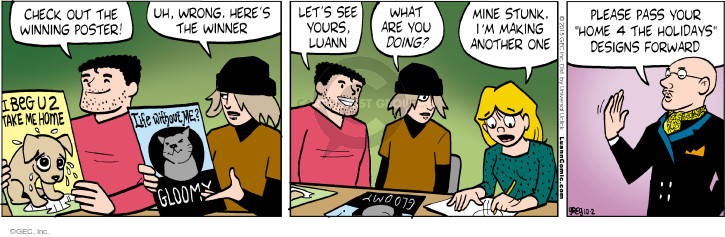Comic Strip Greg Evans  Luann 2015-10-02 design