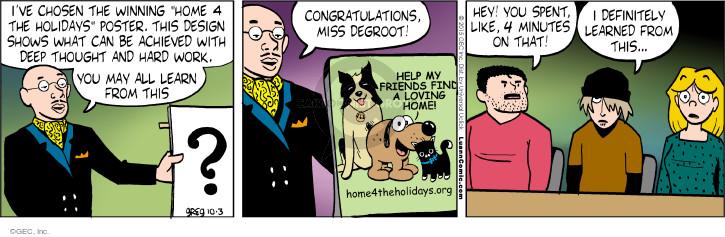 Comic Strip Greg Evans  Luann 2015-10-03 design