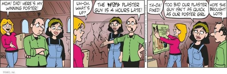 Comic Strip Greg Evans  Luann 2015-10-05 mom