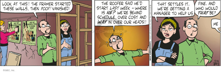 Comic Strip Greg Evans  Luann 2015-10-06 manager