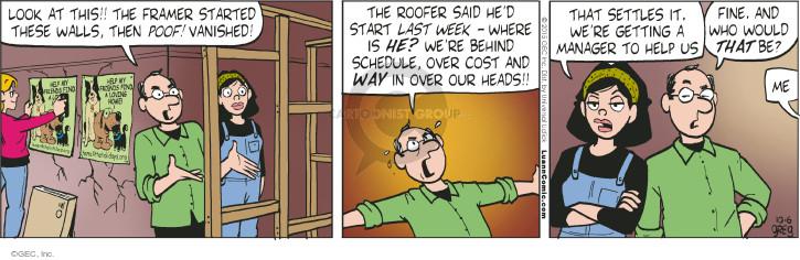 Comic Strip Greg Evans  Luann 2015-10-06 cost