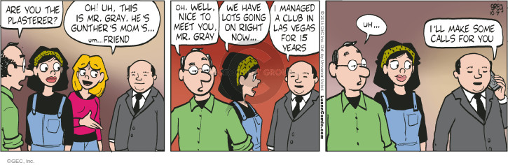 Comic Strip Greg Evans  Luann 2015-10-07 manager