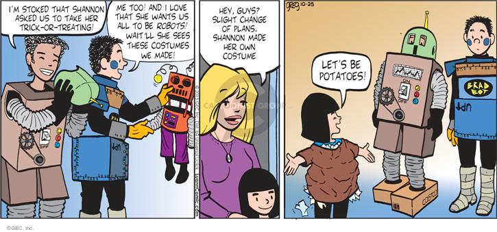 Comic Strip Greg Evans  Luann 2015-10-11 simple