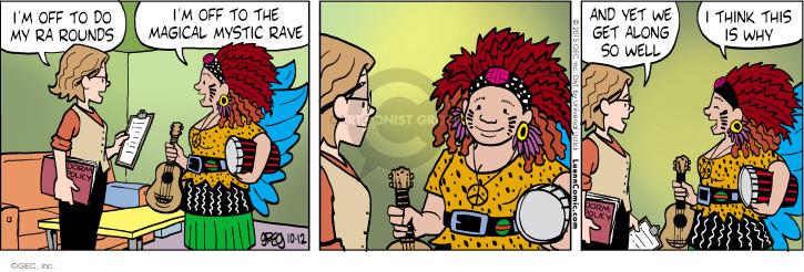 Cartoonist Greg Evans  Luann 2015-10-12 compatibility