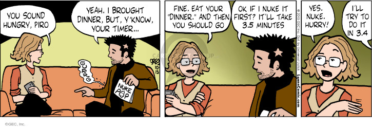 Comic Strip Greg Evans  Luann 2015-10-15 know