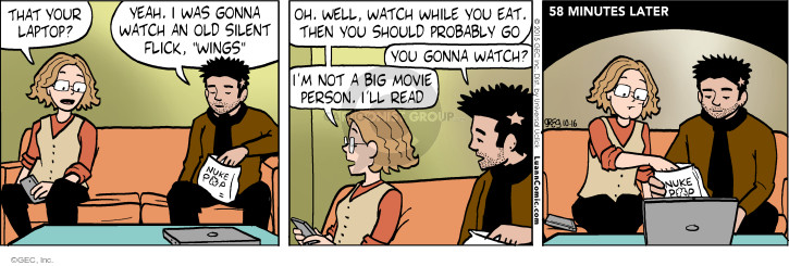 Comic Strip Greg Evans  Luann 2015-10-16 college