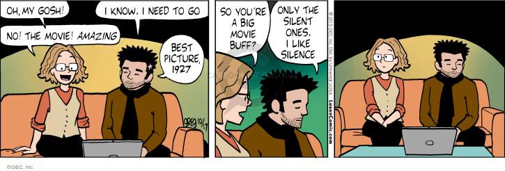 Comic Strip Greg Evans  Luann 2015-10-17 picture