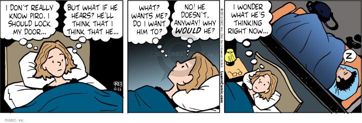 Comic Strip Greg Evans  Luann 2015-10-22 know