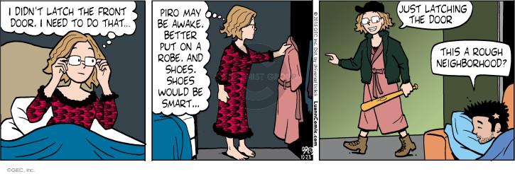 Comic Strip Greg Evans  Luann 2015-10-23 sleep