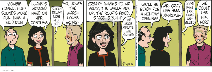Comic Strip Greg Evans  Luann 2015-10-26 ready