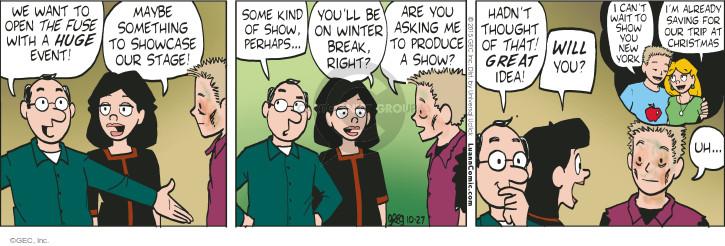 Comic Strip Greg Evans  Luann 2015-10-27 kind