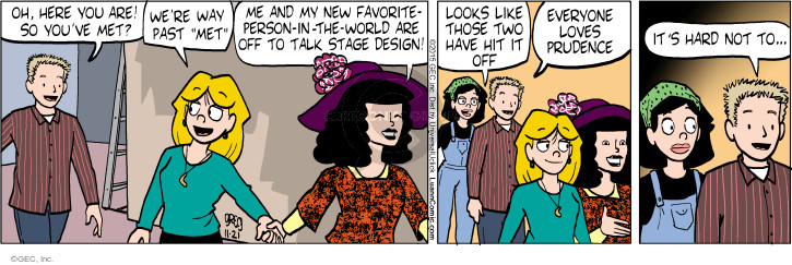 Comic Strip Greg Evans  Luann 2015-11-21 admiration