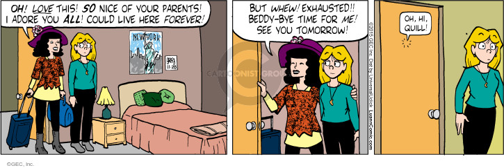 Comic Strip Greg Evans  Luann 2015-11-28 tomorrow