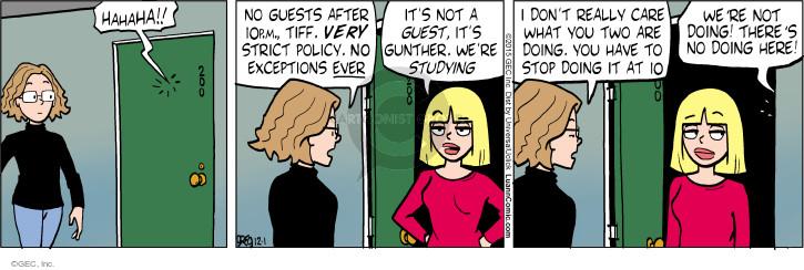 Comic Strip Greg Evans  Luann 2015-12-01 exception