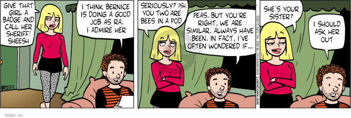 Comic Strip Greg Evans  Luann 2015-12-02 admiration
