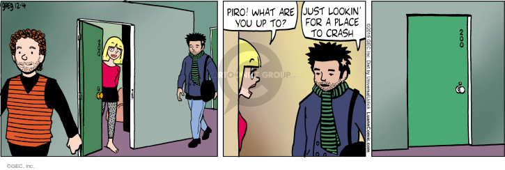 Cartoonist Greg Evans  Luann 2015-12-04 left