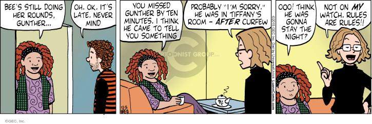 Cartoonist Greg Evans  Luann 2015-12-05 mind