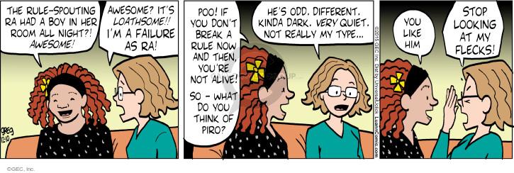 Comic Strip Greg Evans  Luann 2015-12-10 kinda