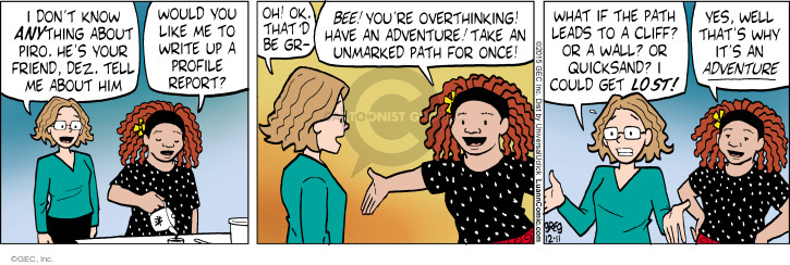 Comic Strip Greg Evans  Luann 2015-12-11 lead