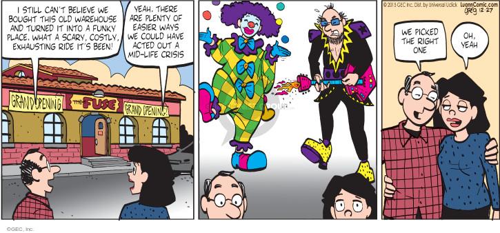 Comic Strip Greg Evans  Luann 2015-12-27 age