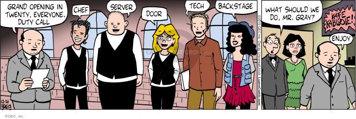 Comic Strip Greg Evans  Luann 2015-12-14 business