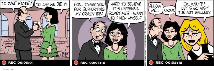 Comic Strip Greg Evans  Luann 2015-12-16 record
