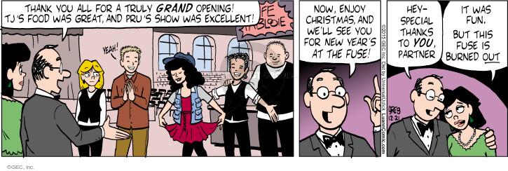 Comic Strip Greg Evans  Luann 2015-12-21 partner