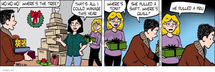 Comic Strip Greg Evans  Luann 2015-12-24 Christmas