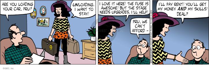 Comic Strip Greg Evans  Luann 2015-12-26 money