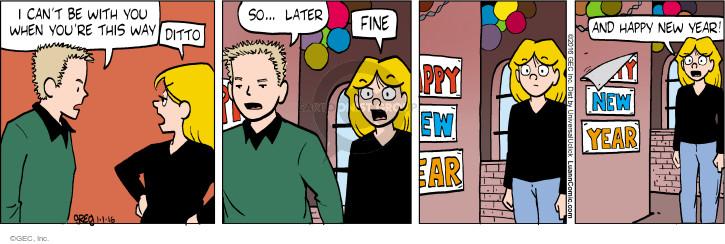 Comic Strip Greg Evans  Luann 2016-01-01 argument