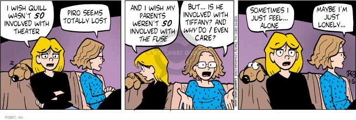 Comic Strip Greg Evans  Luann 2016-01-05 sometimes