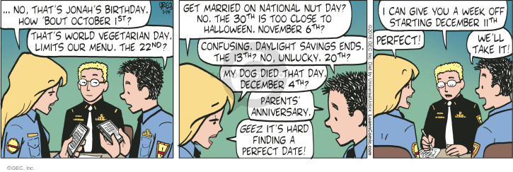 Comic Strip Greg Evans  Luann 2016-01-14 birthday