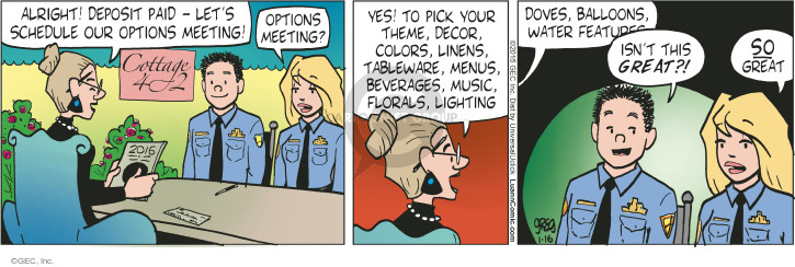 Comic Strip Greg Evans  Luann 2016-01-16 beverage