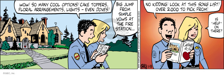 Comic Strip Greg Evans  Luann 2016-01-18 jump