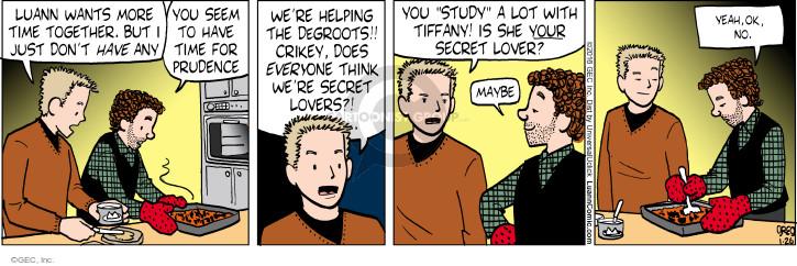 Comic Strip Greg Evans  Luann 2016-01-26 secret