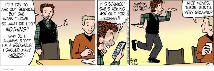 Comic Strip Greg Evans  Luann 2016-01-30 adult