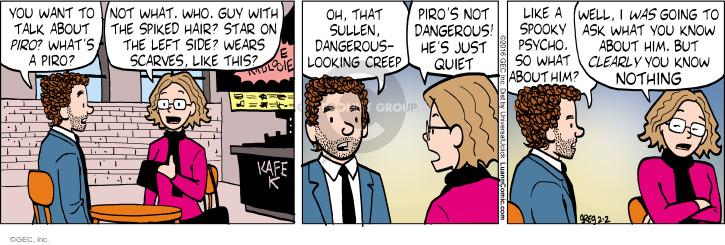 Comic Strip Greg Evans  Luann 2016-02-02 dangerous