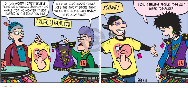 Comic Strip Greg Evans  Luann 2016-02-21 store
