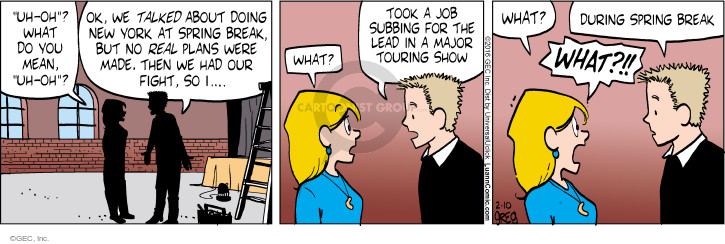 Comic Strip Greg Evans  Luann 2016-02-10 lead