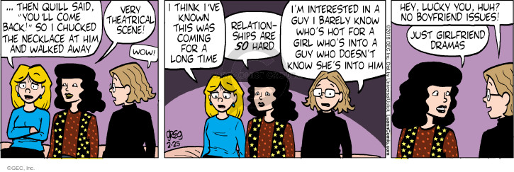 Comic Strip Greg Evans  Luann 2016-02-25 necklace